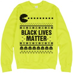 Pacman Ugly Sweater - Neon Sweater