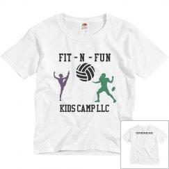fit n fun kids camp LLC tee