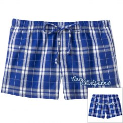 Navy Girlfriend PJ Shorts