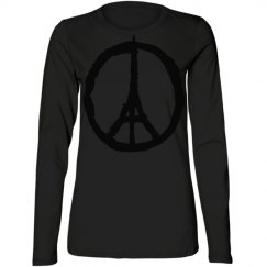 pray for paris peace sign