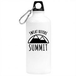 Sweat Before Summit Water Bottle