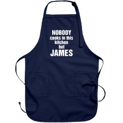 James is the cook!