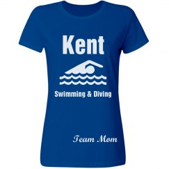 Kent Swimming Team Mom