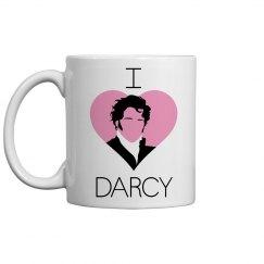 I Heart Darcy mug
