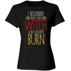 I descended from that witch who
