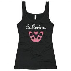 Ballerina Rhinestone Tank