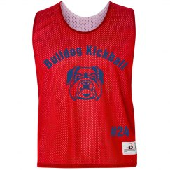 Bulldog Kickball Pinnie