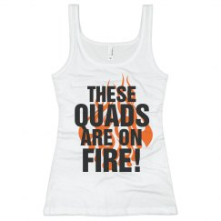 Quads on Fire Tank