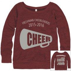 Freshman Cheer Sweatshirt