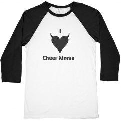 I Love Cheer Moms Devil
