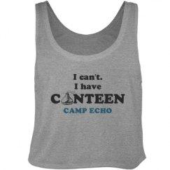 Camp canteen chocolate kiss