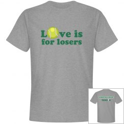 Camp Tennis Love for Losers (alternate back)