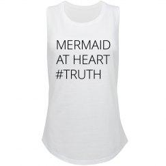 Mermaid At Heart Truth Hashtag