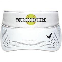 Softball Custom Visor