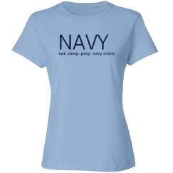 Eat sleep pray navy mom