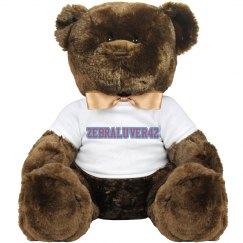 Zebraluver42 Bear