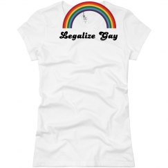 Legalize Gay Rainbow