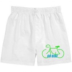 Go Bike -  Unisex Boxer Short