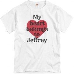 Heart belongs to Jeffrey