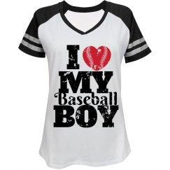 Baseball T- Heart