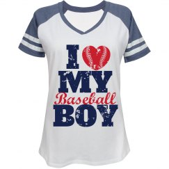 Navy Basbeball Heart