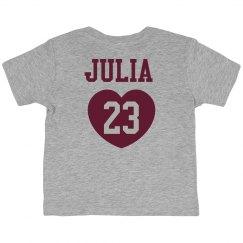 Lil' Julia Loves Football