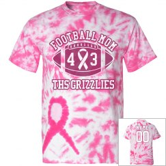 Tie-Dye Football Mom