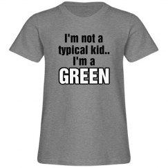 I'm a Green!