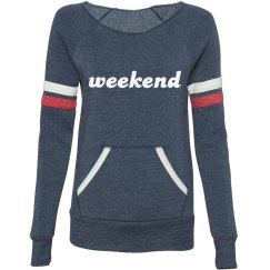 """Old School"" Weekend Sweatshirt"