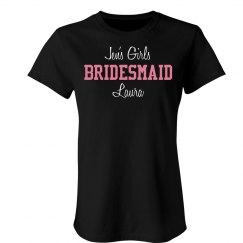 A Bridesmaid Party Tee