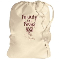 Beauty Not A Beast Bag
