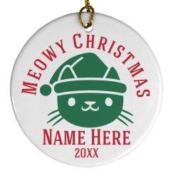 Meowy Christmas Gift
