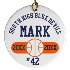 Basketball Player Gift