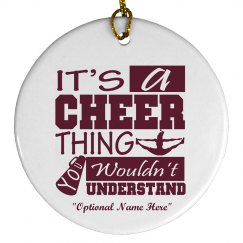 Cheer Thing Ornament