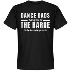 Funny Ballet Dance Dad at Barre