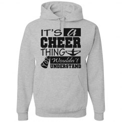 It's a cheer thing
