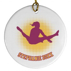 Gymnastics Xmas Ornaments
