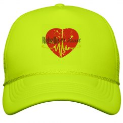 Distressed Heart Hat