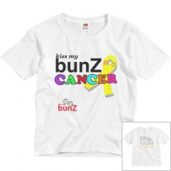 KissmybunZ CANCER kids T