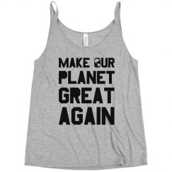 Or Planet Will Be Great Trendy Tank