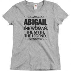 Abigail the woman the myth the legend