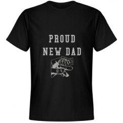 Rhinestone Proud Dad Tee