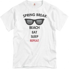 Beach, eat, sleep, repeat
