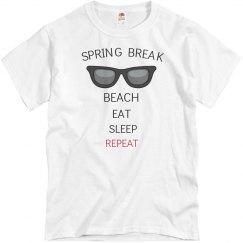Beach, eat, sleep, repeat