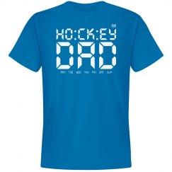 hockey dad tee