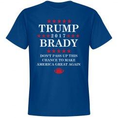 Trump and Brady 2016