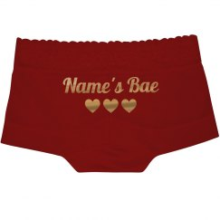 Custom Bae Lace Underwear