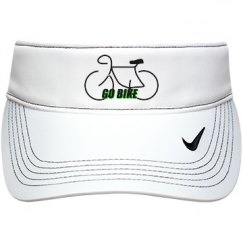 Go Bike- Nike Visor Cap