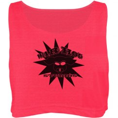 War Hog Neon Crop Top Tank