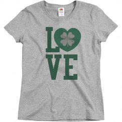 Love St. Pattys Day Custom Shirt
